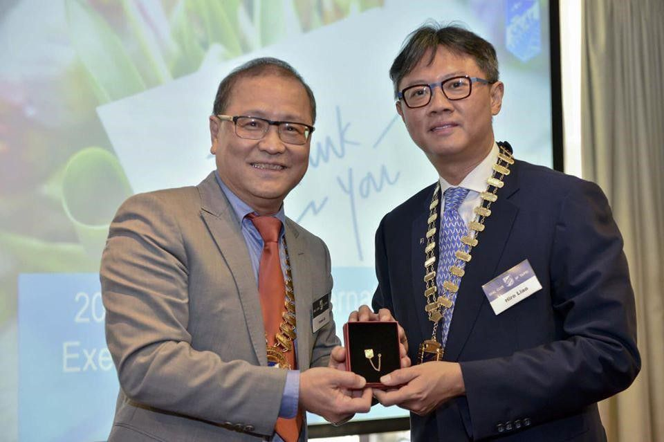 Skål International Taipei new President Johnny Tsai