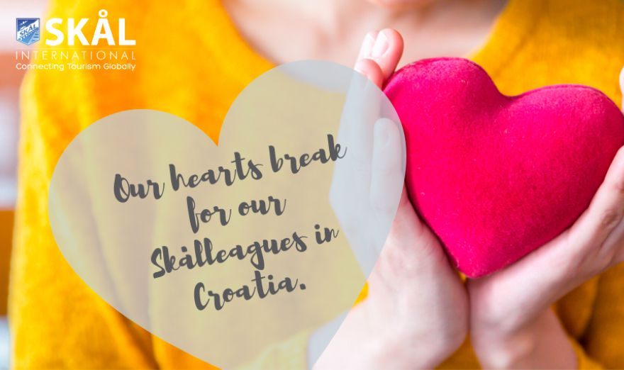 Our hearts break for our Skålleagues in Croatia